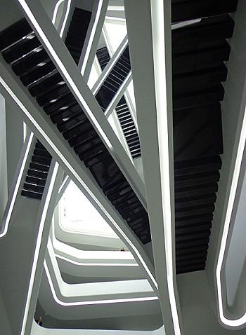 Лестницы. Вид снизу