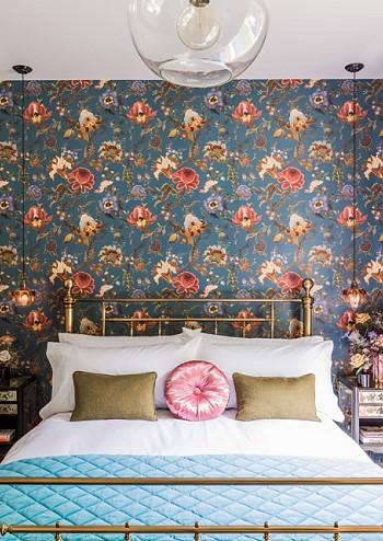 Спальня Кейт Мосс