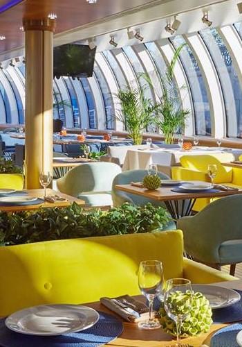 Дизайн ресторана на яхте