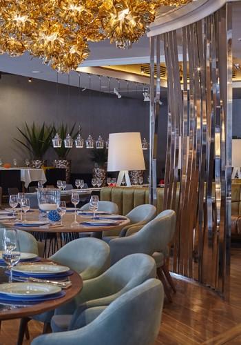 Дизайн интерьера рыбного ресторана
