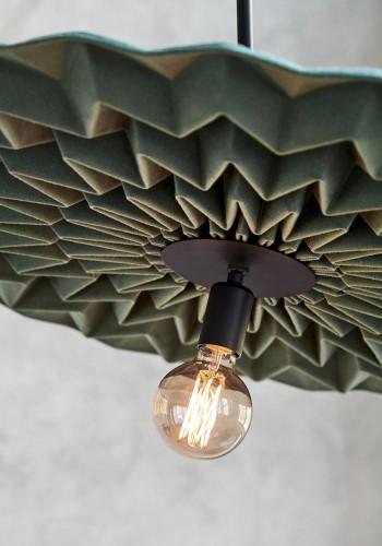 Шерстяной светильник