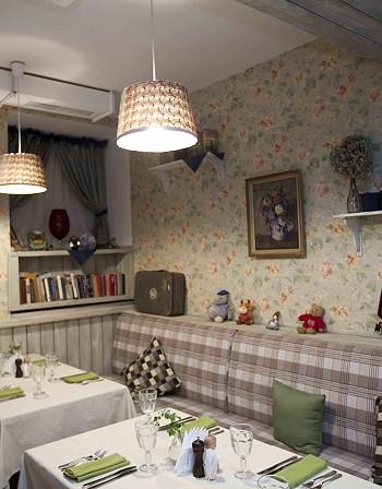 Домашняя комната в ресторане
