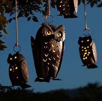 Подсвечники совы