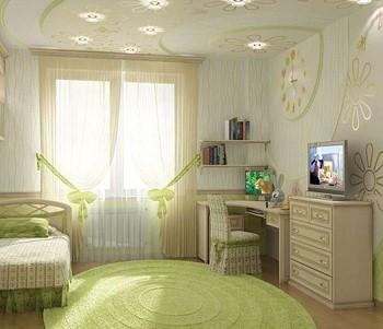 Идея спальни для девочки