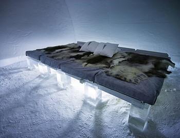 Ледяная кровать