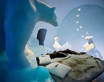 Комната изо льда