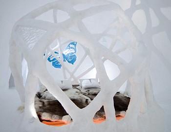 Дом из льда
