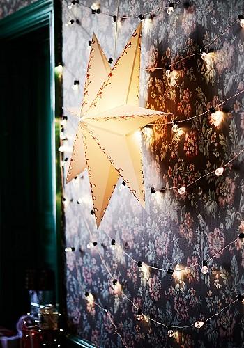Новогодняя звездочка на стену