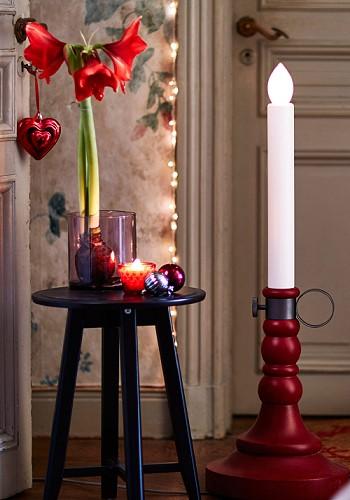 Цветочный новогодний декор