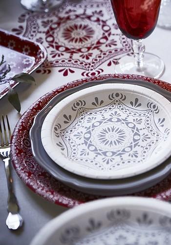 Столовая посуда Икеа