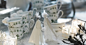 Рождественская посуда
