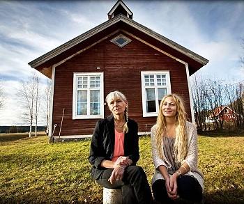 Фотограф в шведской деревне