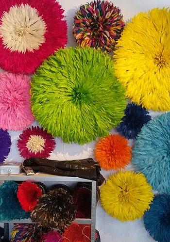 Цветовая гамма Juju hat