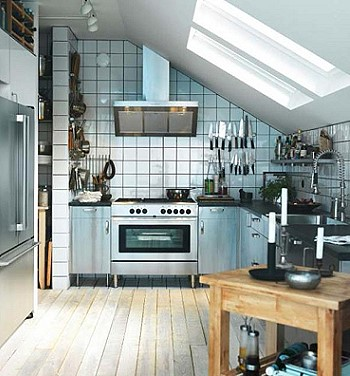 Кухня в промышленном стиле