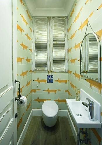 Дизайн туалета в сталинке