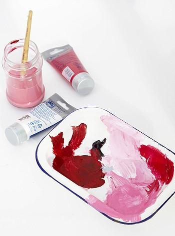 Краски художника