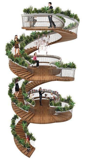 Жилая лестница