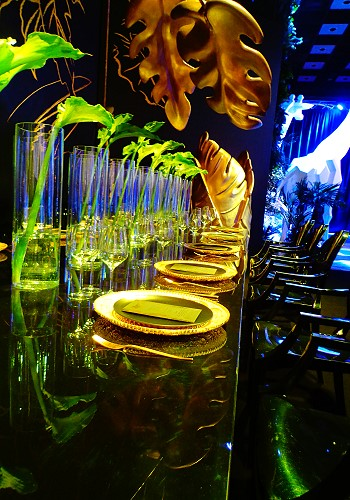 Гостевой стол на свадьбе