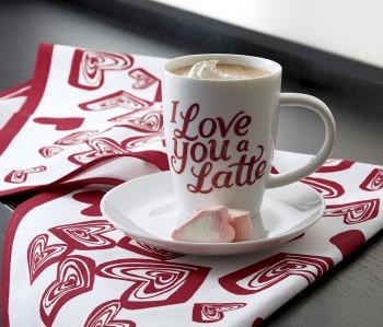 Завтрак в день всех влюбленных