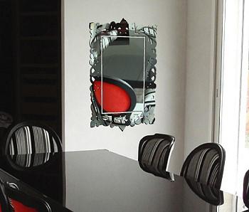 Декор стен зеркальный стикеры