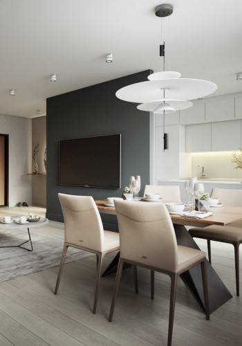 Современный дизайн двухкомнатной квартиры
