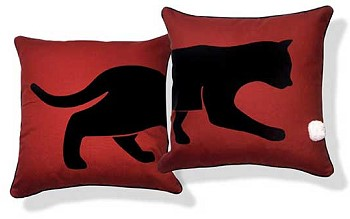 Подушки с изображением кошки