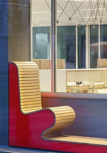 Дизайн зоны отдыха в банке NIBc