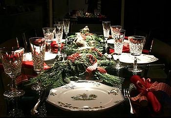 Декор в новогоднюю ночь