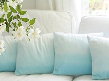 Подушки в стиле ombre