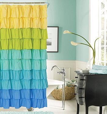 Занавески для ванной комнаты