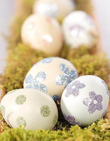 Роспись яиц на Пасху
