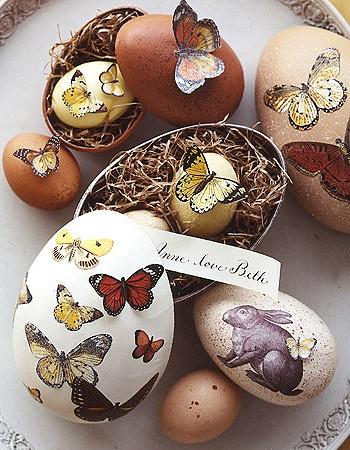 Как расписать яйца на Пасху