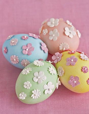 Дизайн яиц на Пасху
