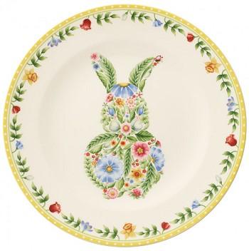 Посуда на Пасху с зайцем