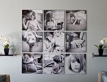 Панно из семейных фотографий