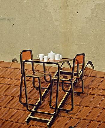 Мебель на крыше