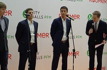 Сергей Баскаков, Алексей Емельянов и Михаил Кучмент