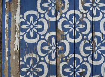 Рисунок на полу в марокканском стиле