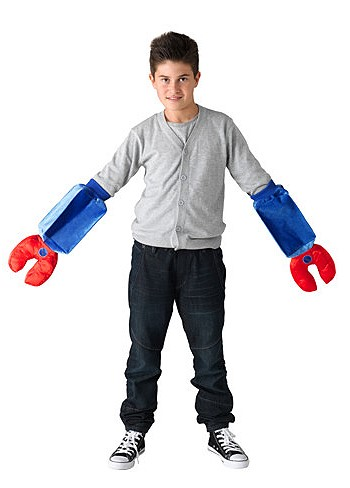Новогодний костюм руки робота