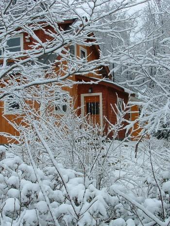 Зимний ландшафтный дизайн