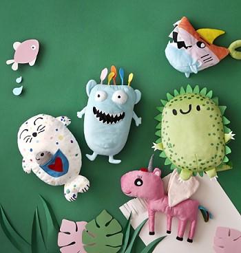 Игрушки созданные по детским рисункам