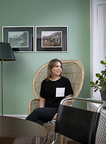 Камилла Валлин у себя дома