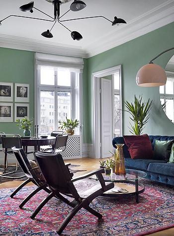 Интерьер квартиры в Стокгольме