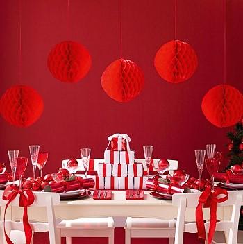 Красно-белый Новый год