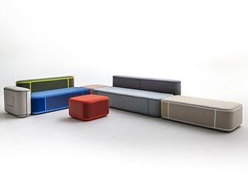 Разноцветная мебель Tape