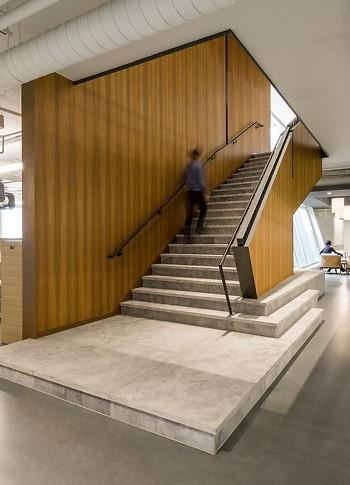 Лестницы в офисе
