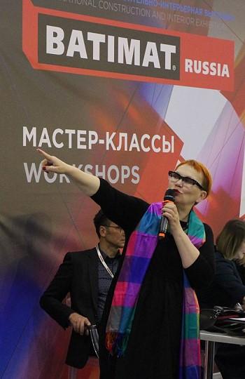 Елена Теплицкая на Batimat Inside 2019