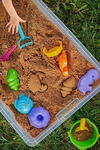 В песочнице с ИКЕА
