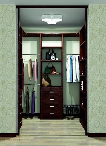5 оригинальных решений по обустройству гардероба