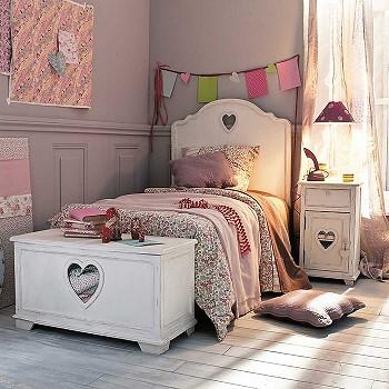 Кровать в день Святого Валентина